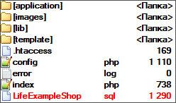 MVC система структура файлов