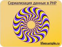 Сериализация php