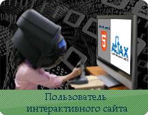 AJAX технология - интерактивный пользователь